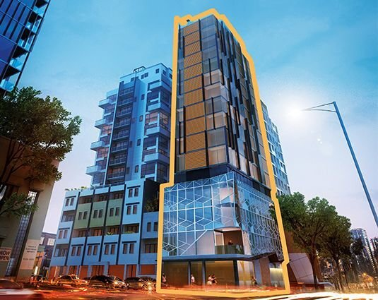 Melb City Edge Corner Site with Permits & Plans for 47 Apartments