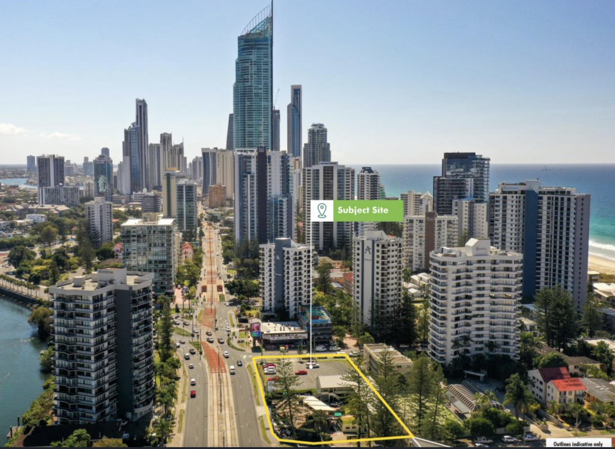 Established Gold Coast Beach Side Development Site & Hotel Offered For Sale