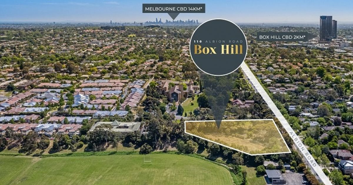 Property Showcase: Landmark Development Opportunity in Melbourne's 2nd CBD For Sale – 5,047sqm