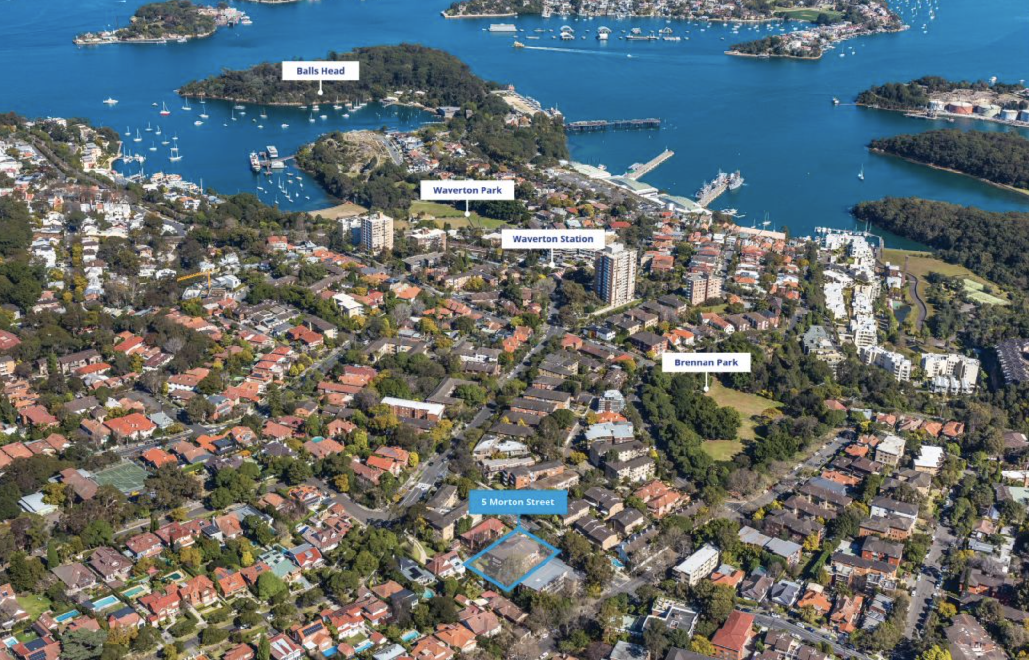 Rare Wollstonecraft boutique residential site on the market for the first time in over 50 years