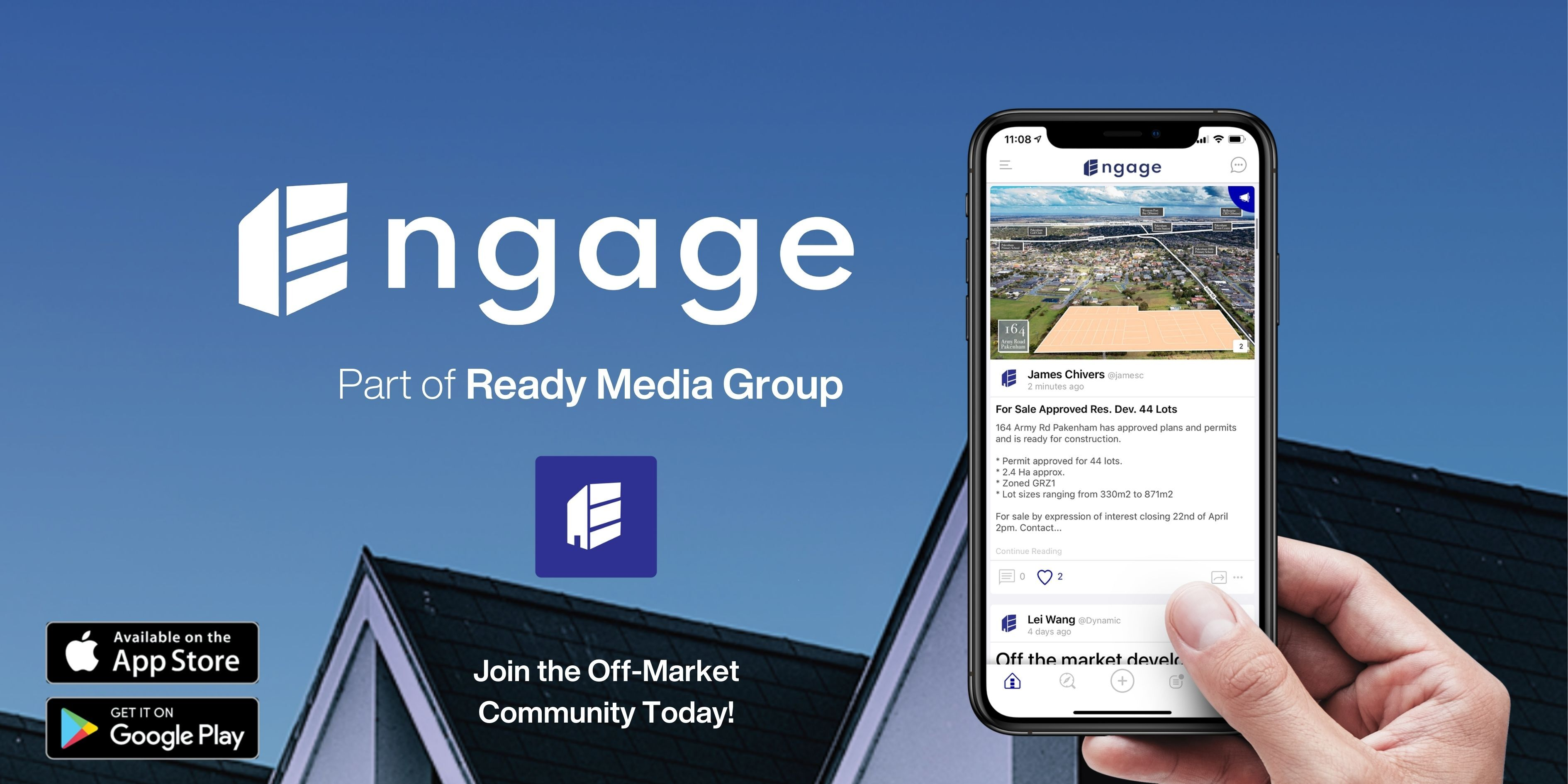 Off-Market App 'Engage' Continues to Grow Amongst Agents & Developers