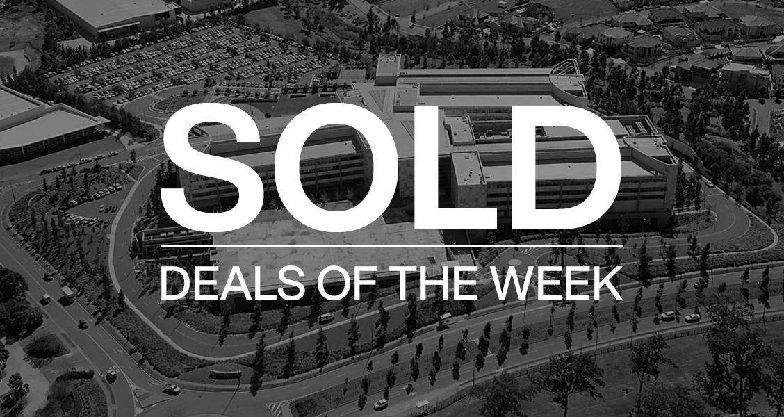 Deals of the week – 13 September 2021