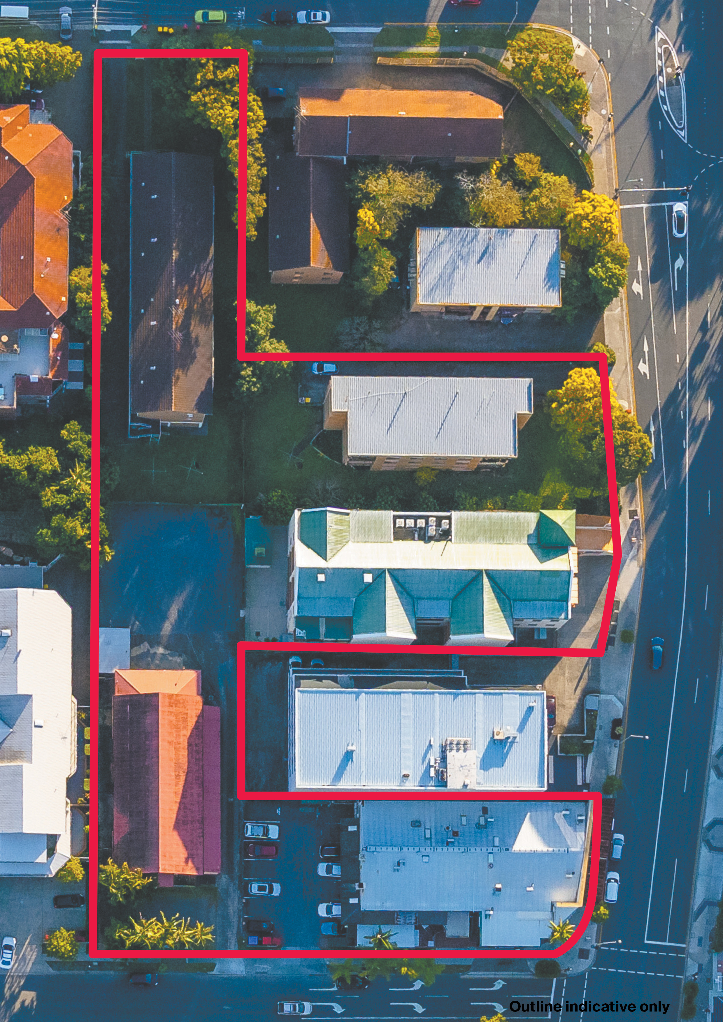 5000sq m+ amalgamated Indooroopilly development site up for sale
