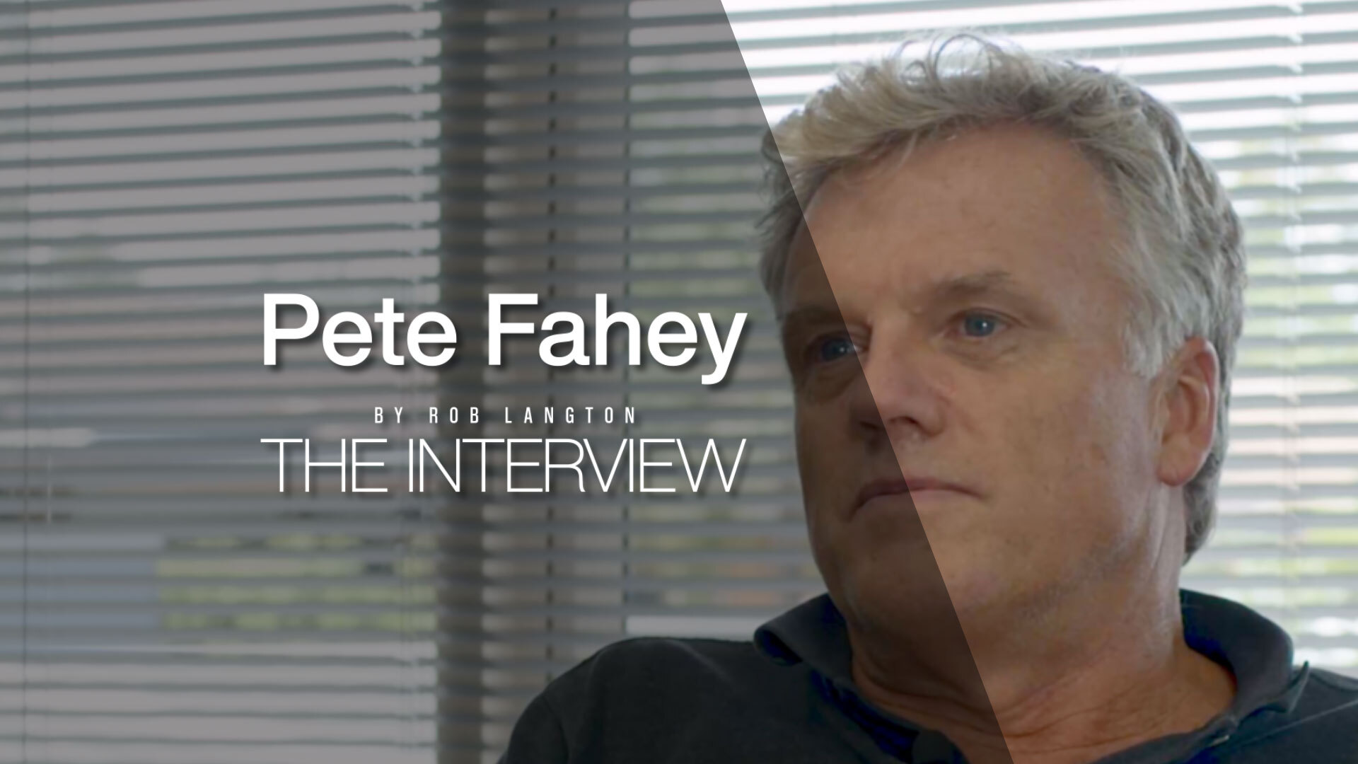 Peter Fahey - Clarence Property Corporation
