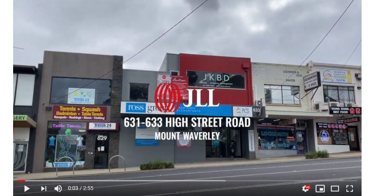 Property Showcase: Video Inspection - 631-633 High Street Rd, Mount Waverley | JLL MELBOURNE