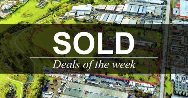 Deals of the week – 27 AUGUST 2018