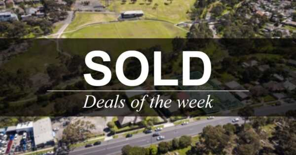 Deals of the week – 13 AUGUST 2018