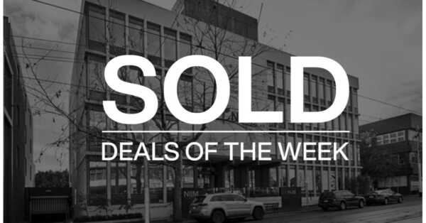 Deals of the week – 11 January 2021