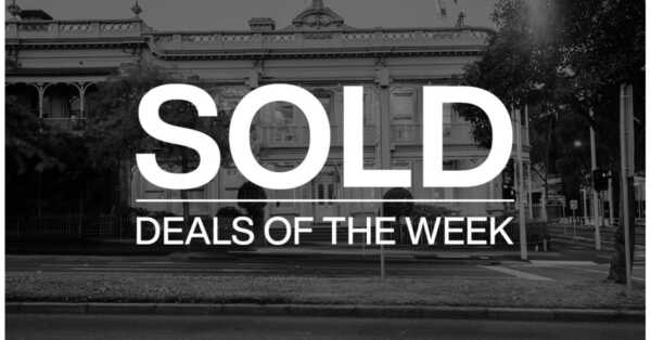 Deals of the week – 1 February 2021