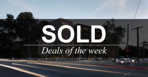 Deals of the week – 26 November 2018