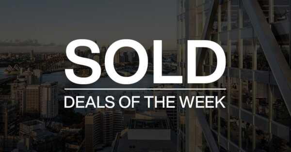Deals of the week – 9 November 2020