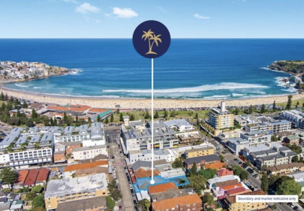 Famous freehold and former home of Bondi FM hits the market