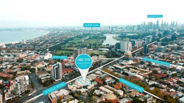 Premier St Kilda Hill Development Site