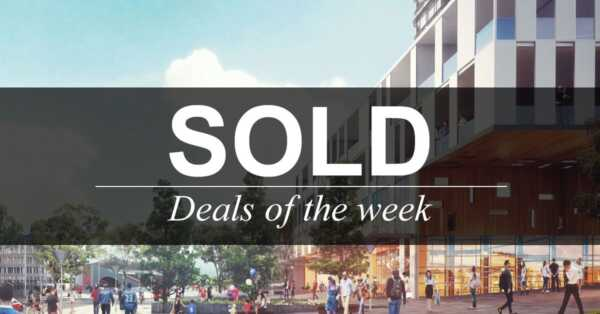 Deals of the week – 29 January 2019