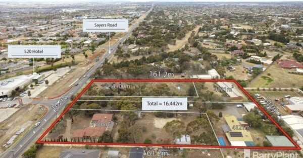 Unprecedented 1.64 Ha Site in Western Melbourne Hub Hits The Market