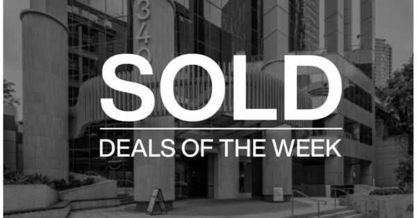 Deals of the week – 30 November 2020