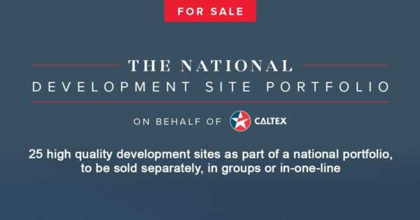 Property Showcase: Caltex Fuelling Apartment Developments with 25 Station Sites Up For Sale