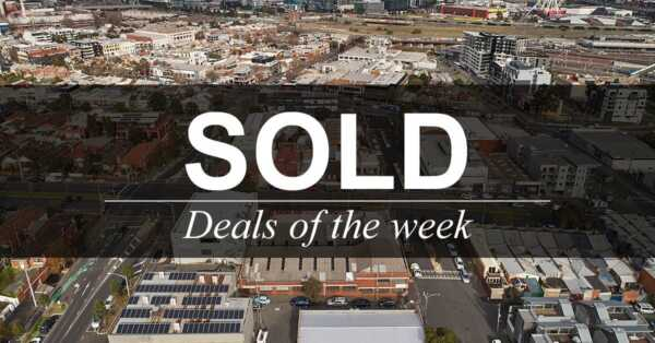 Deals of the week – 20 AUGUST 2018