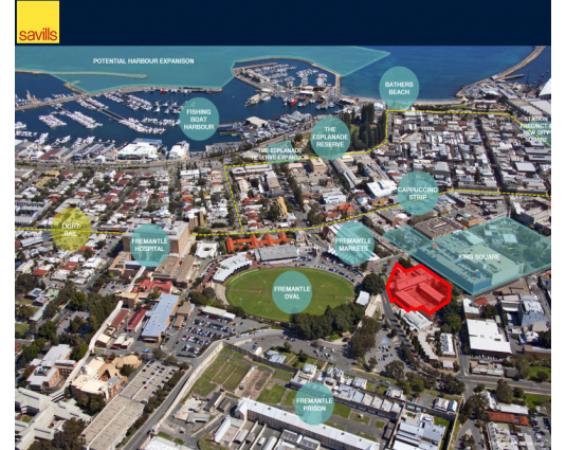 Savills Perth Lists Enormous Fremantle Site