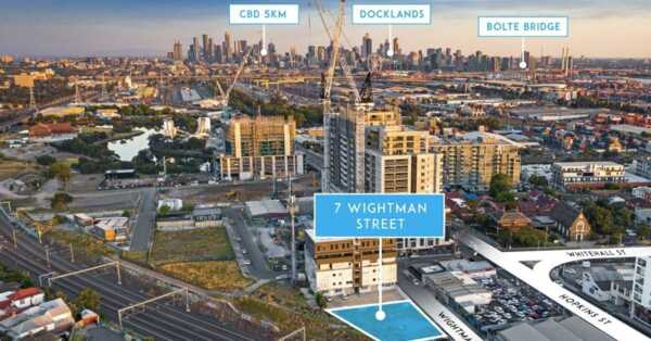 Property Showcase: Meet the demand: Approved Tower in Melbourne's Booming Inner-West For Sale
