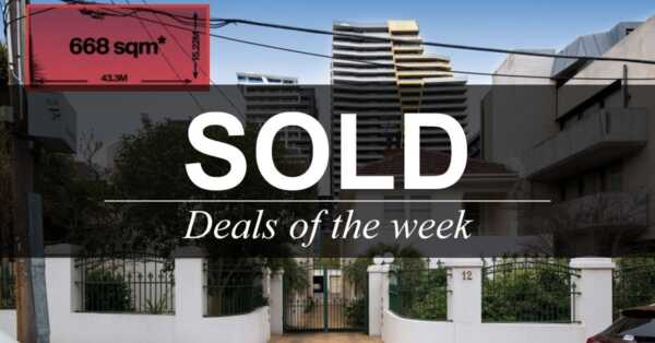 Deals of the week – 12 November 2018