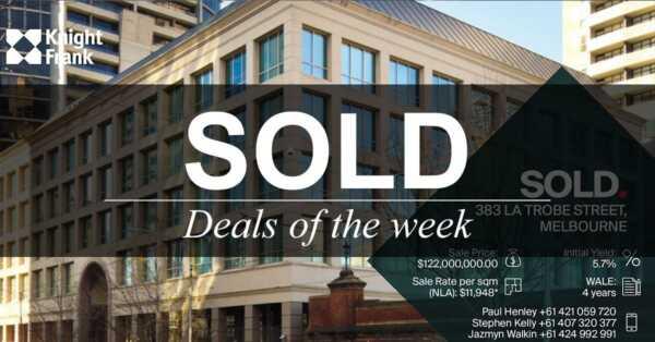 Deals of the week – 10 September 2018