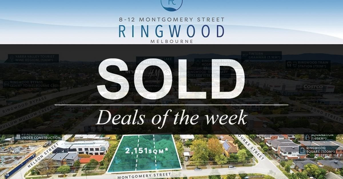 Deals of the week – 21 MAY 2018