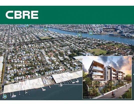 Prestigious Waterfront Development Cements CBRE Brisbane As Premier Agency