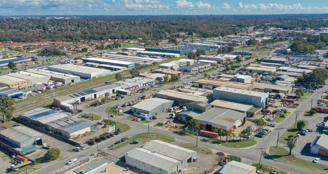 Perth industrial vacancy drops by nearly a third in 12 months