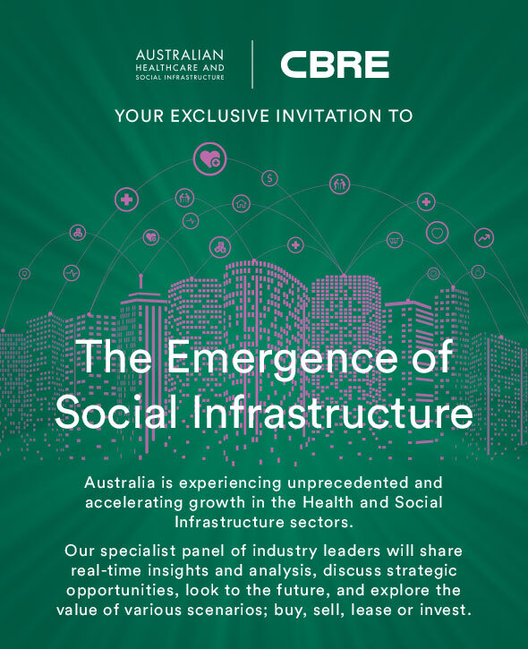 Australia's Most Active and Influential Social Infrastructure Minds To Come Together