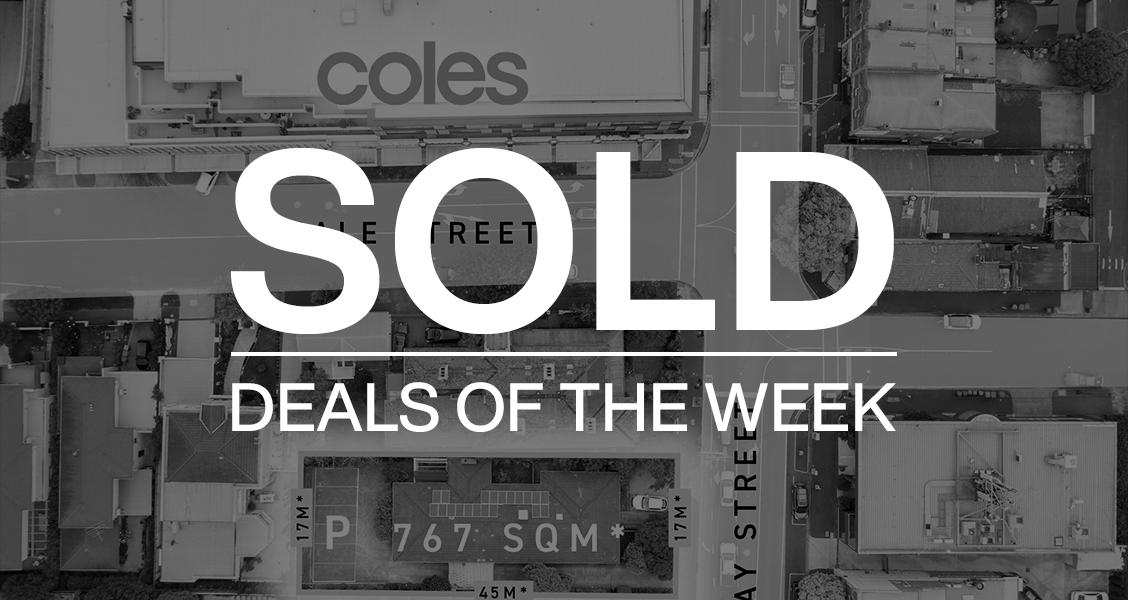 Deals of the week – 19 April 2021
