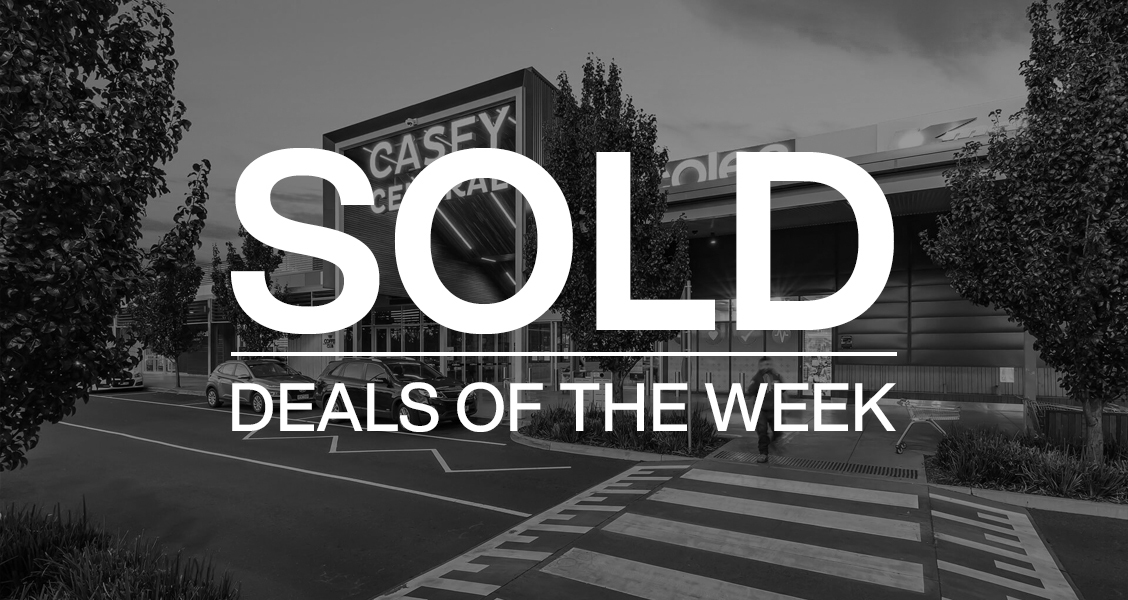 Deals of the week – 26 July 2021