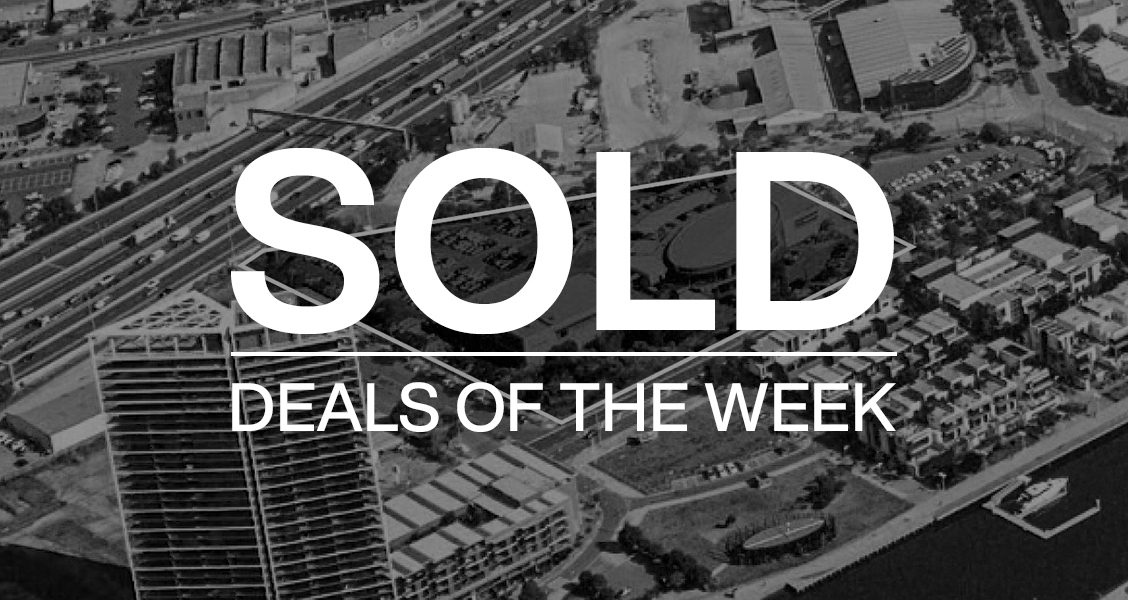 Deals of the week – 30 August 2021