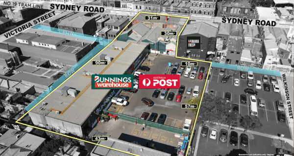 Brunswick Bunnings and Australia Post site sold in just 4 days
