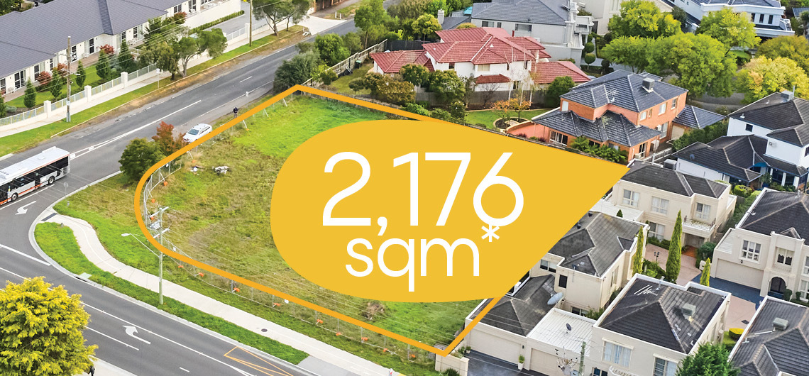 Eastern Melbourne townhouse sites