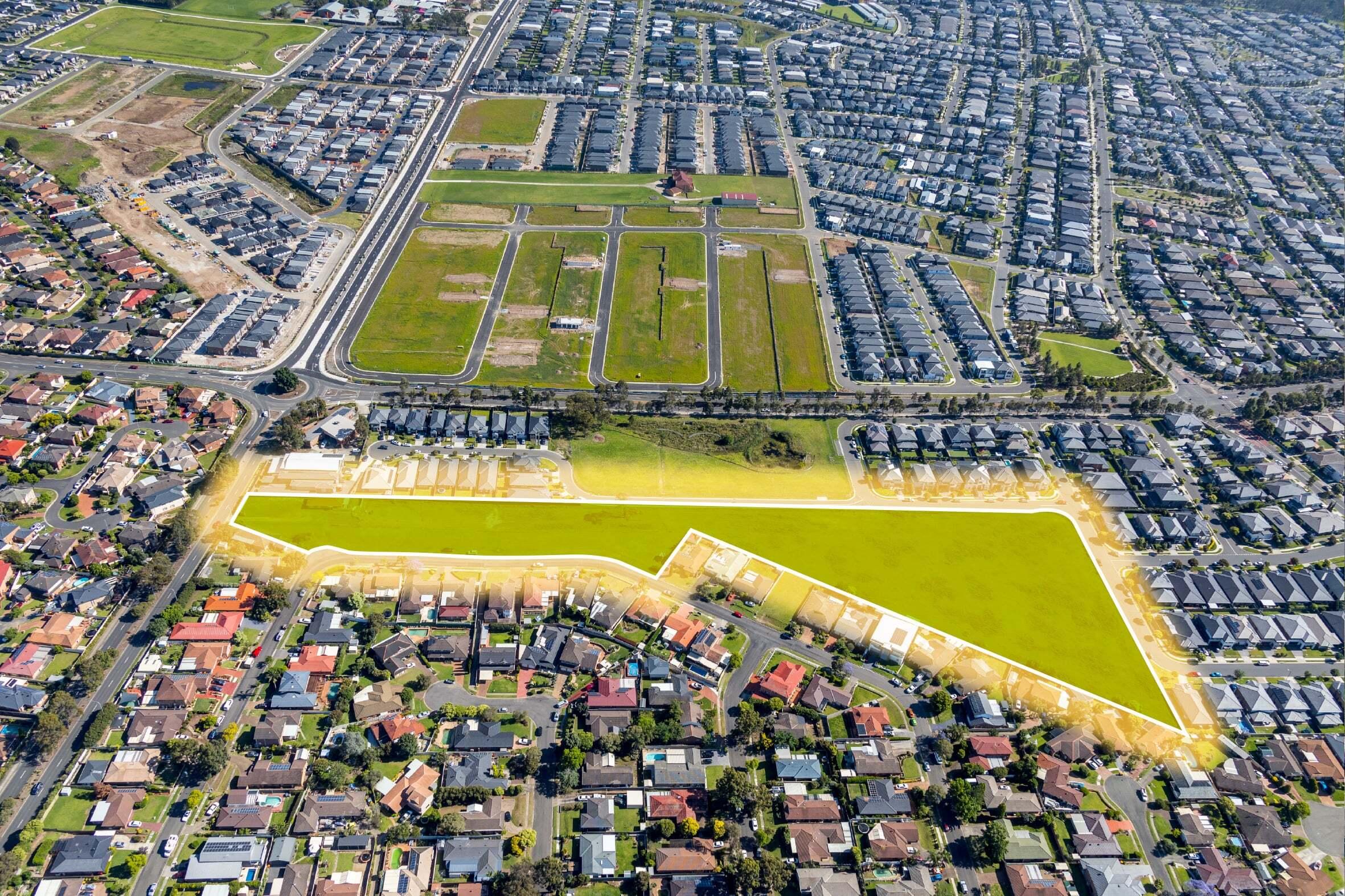 Major Western Sydney residence development site