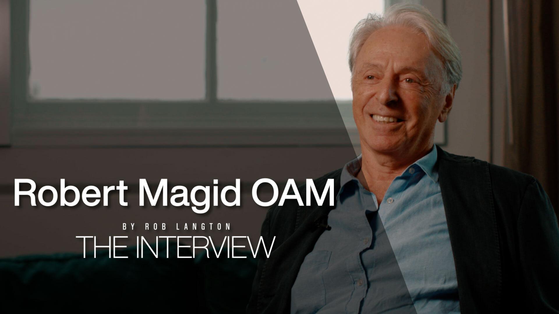 Robert Magid OAM