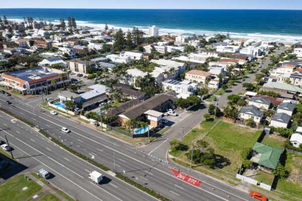 Iconic Former 'Castle Motor Inn' Motel in Mermaid Beach Hits the Market
